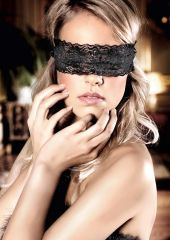 LACE BLINDFOLD OS BLACK