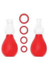 Nipple Erector Set - Red