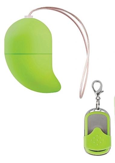 Vibrating G-spot Egg - Small - Green