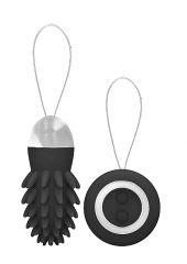 Mason - Rechargeable Remote Control Vibrating Egg - Black